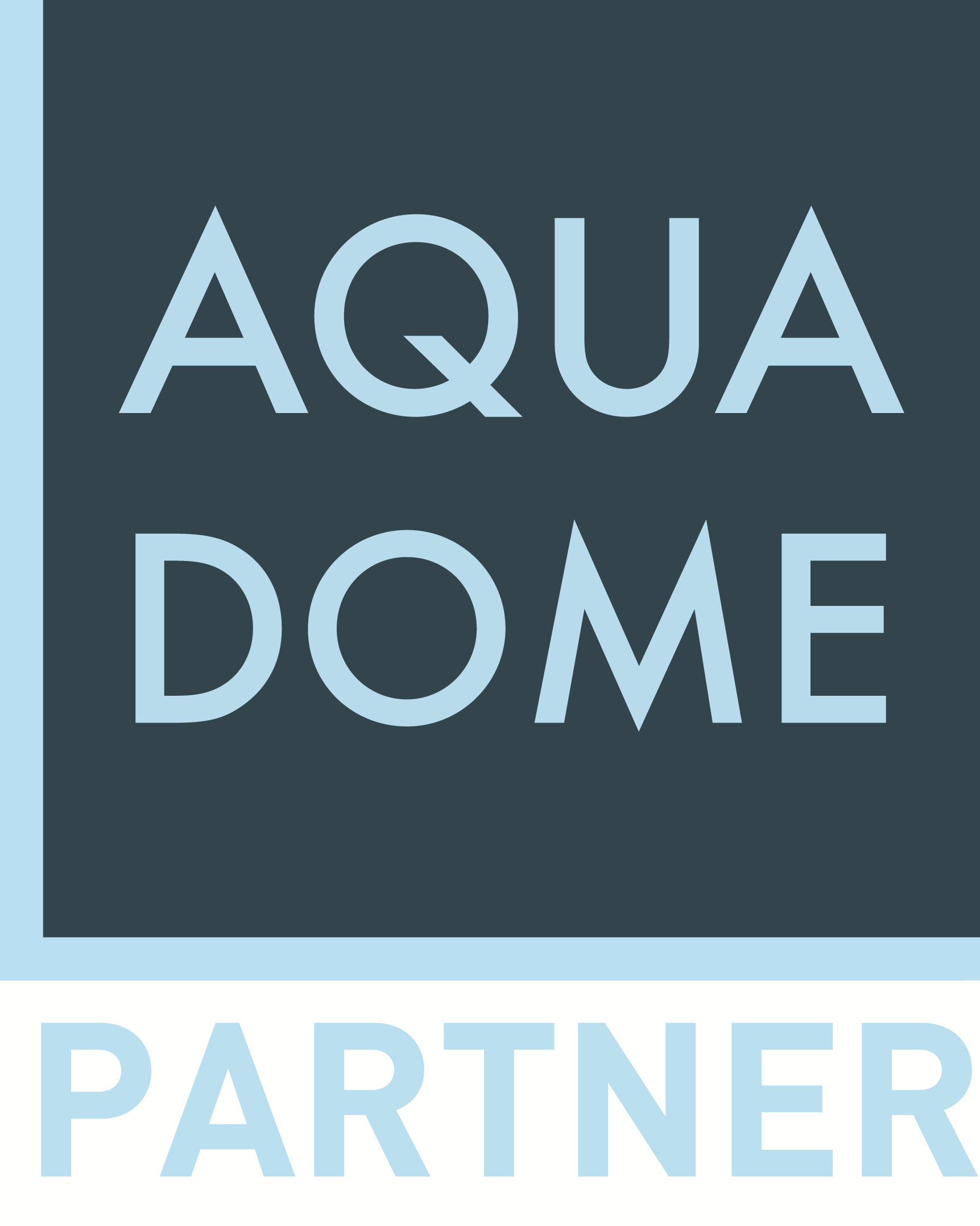 Aquadome logo partner hell neu